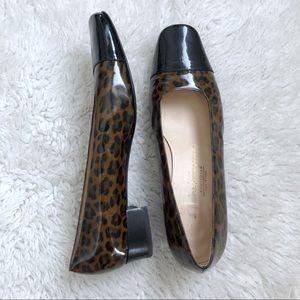 Salvatore Ferragamo Leopard Print Heels Size 9